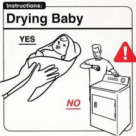 Baby Drying