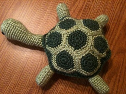 Tuckered Out Turtle