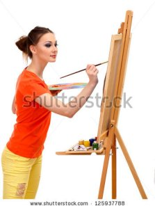 beautiful-young-woman-painter-at-125937788