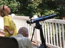 Younest Grandpa Telescope